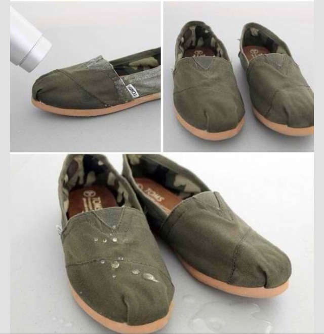 how to make shoes waterproof diy