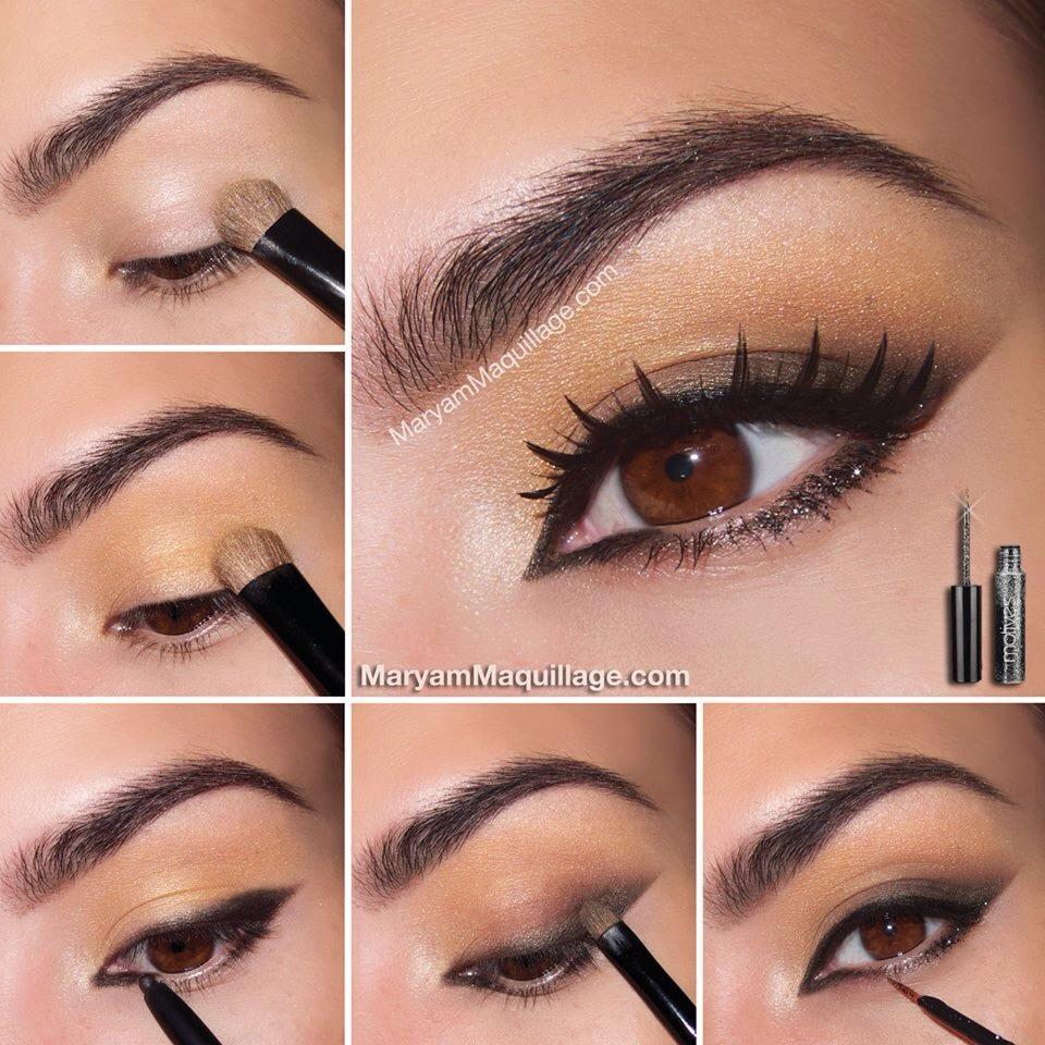 Как сделать глаза раскосыми макияж