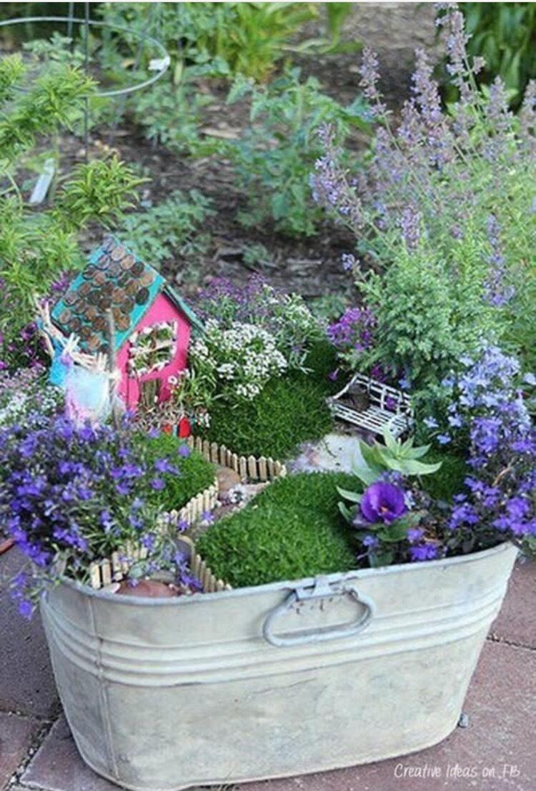 Идея для сада или огорода своими руками