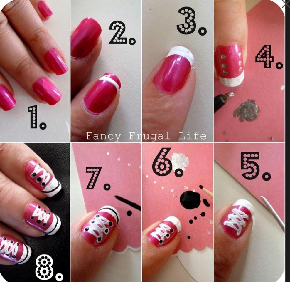 Рисунки Как накрасить на ногтях сделать рисунок