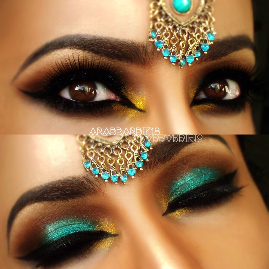 Красивые глаза макияж восточный