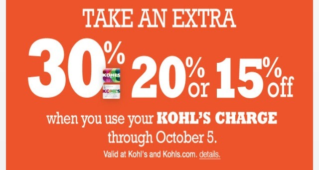 Kohls coupon by text