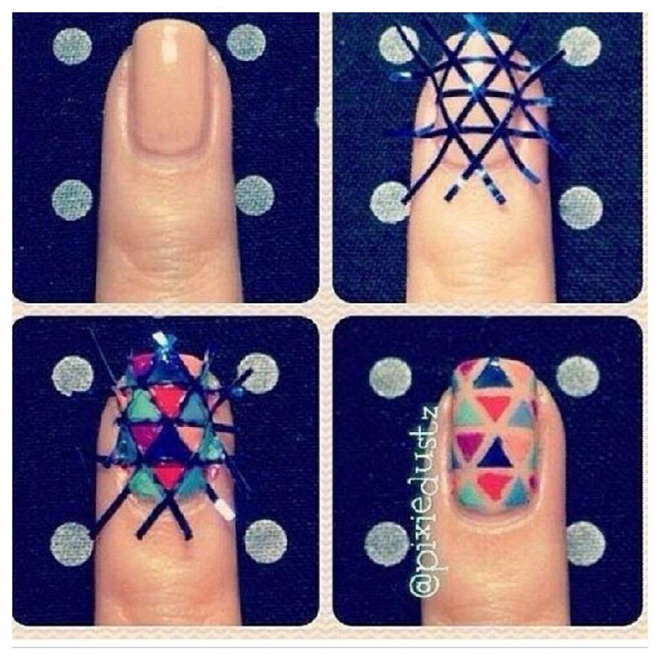 Научиться рисовать на ногтях в домашних условиях фото пошагово