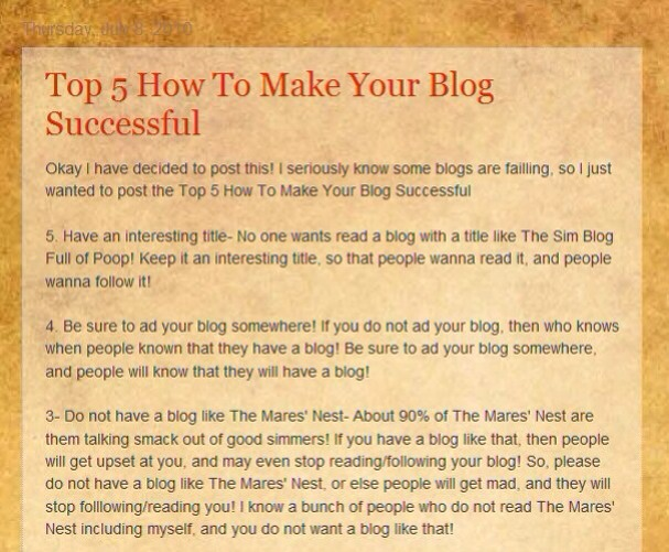 How to make your blog successful musely for How to build a blog
