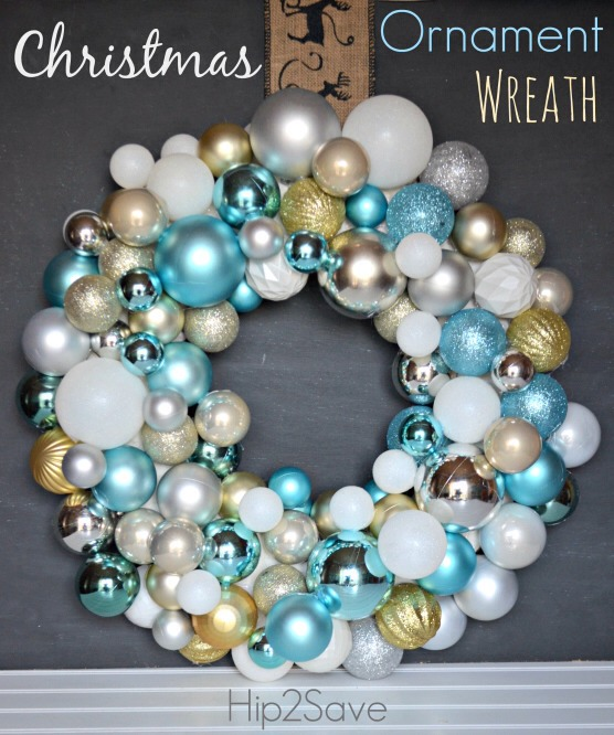 Make a christmas ornament wreath holiday craft musely - Great christmas ornaments that you need for your home ...