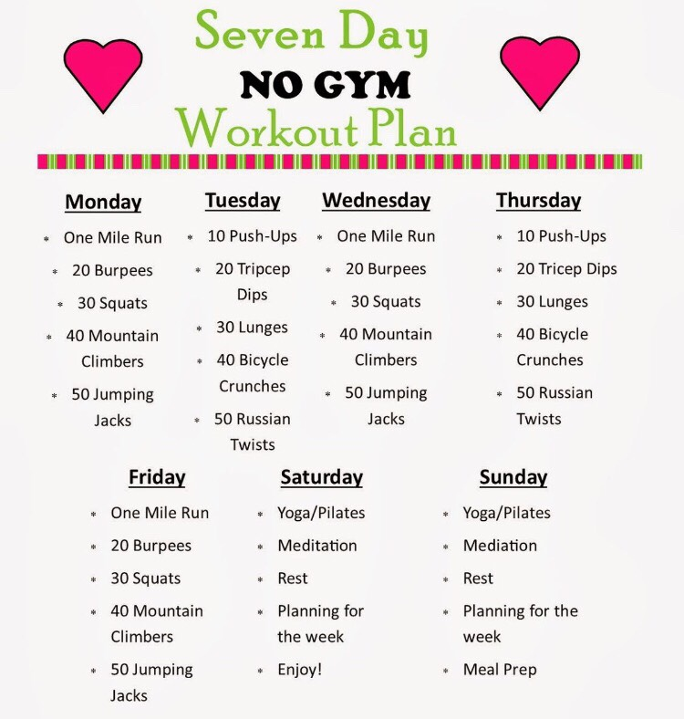 Workout Plan To Lose Weight No Gym  Most Popular Workout Programs