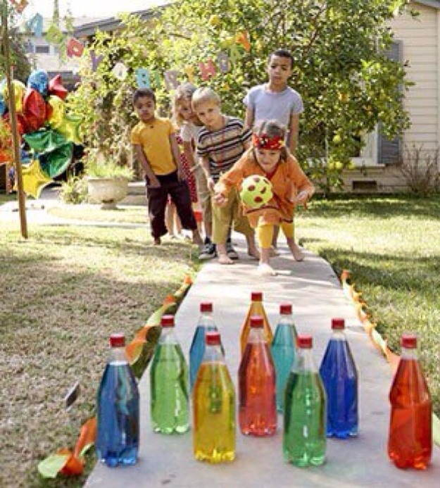 Конкурсы на день рождения для детей на улице летом