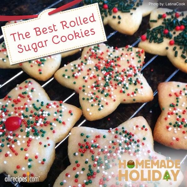 Holidays: 🎄 The Best Rolled Sugar Cookies Recipe - Musely