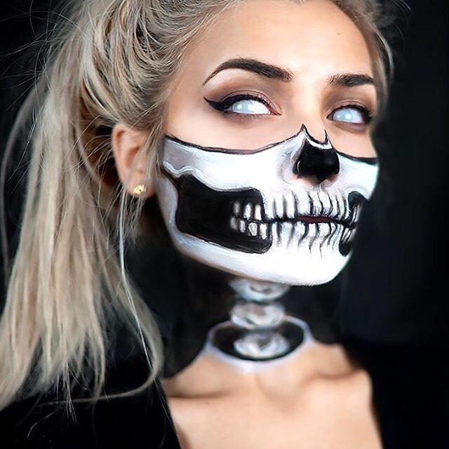 How to do skeleton makeup