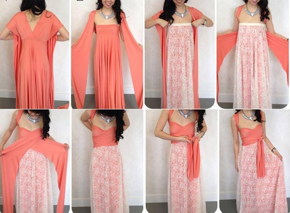 Длинные платья сделать своими руками