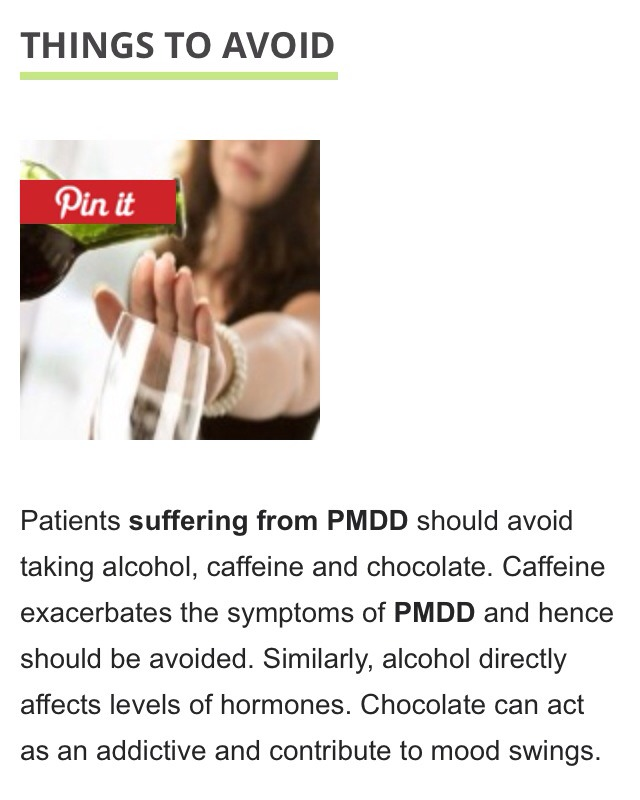Natural Cures For Pmdd