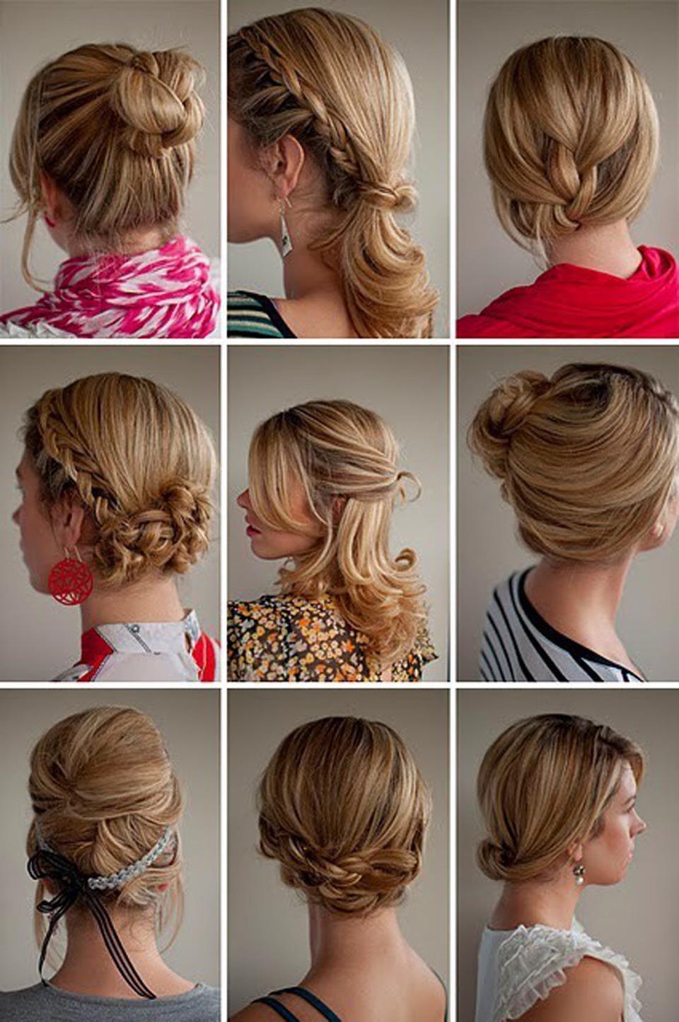 Как уложить волосы до плеч в прическу фото