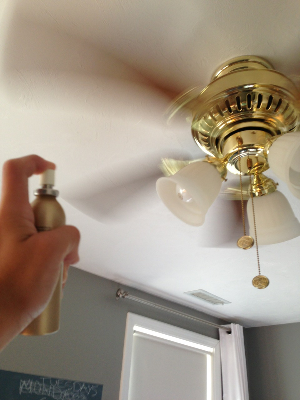 When Spraying Any Odor Eliminator In A Room Spray The Spray Into A Fan Musely