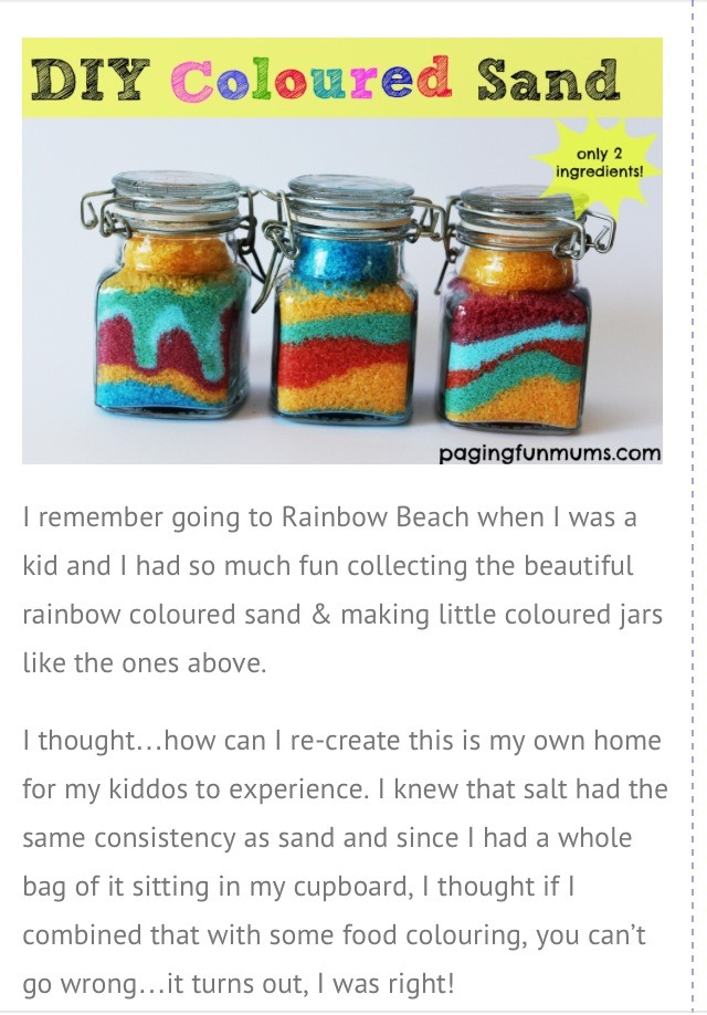 Diy Crafts With Sand