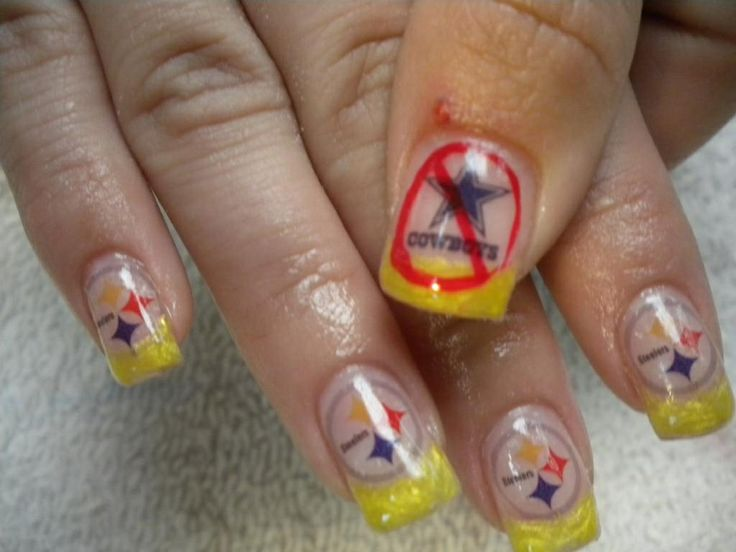 Steelers Nail Art Decals - Nail Art Ideas