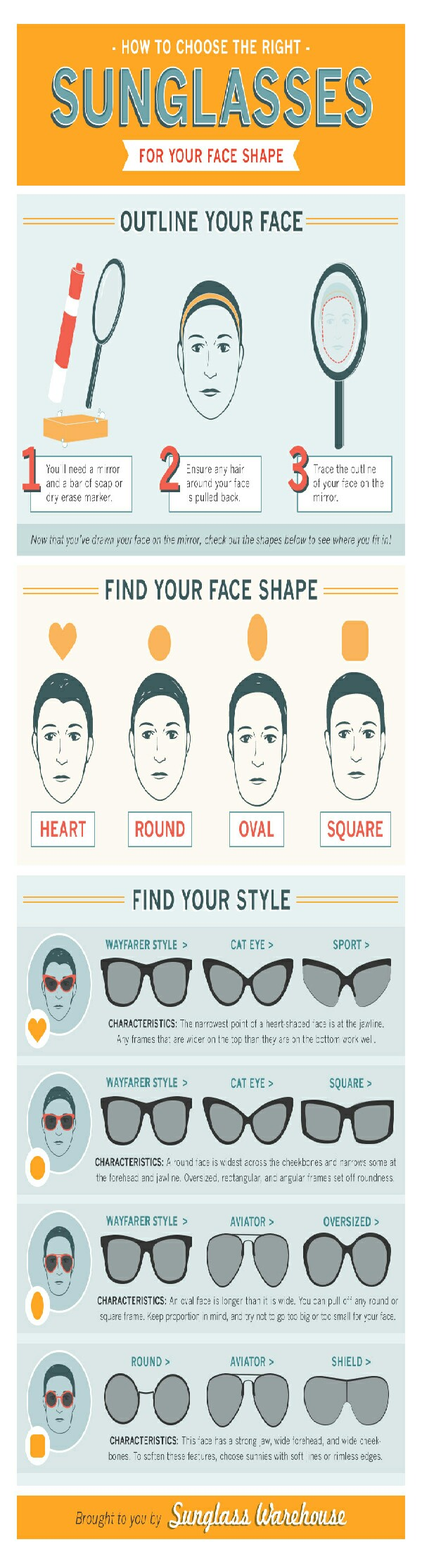 How to choose the right sunglasses for you.