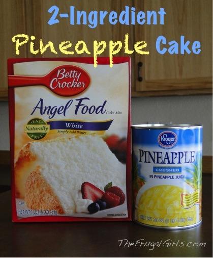 Add Pineapple Juice To Cake Mix