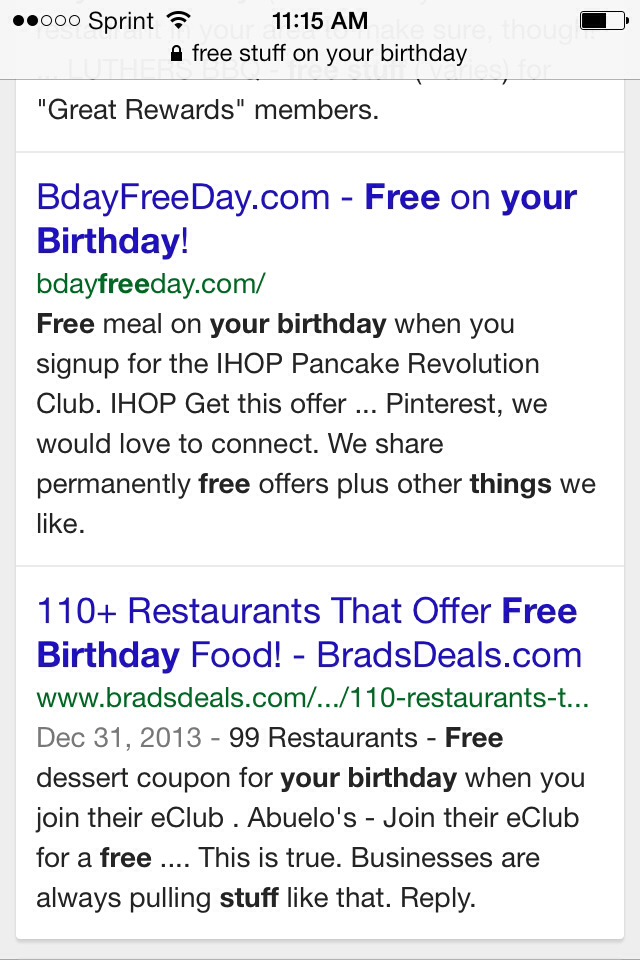Free Birthday Stuff Website ~ Free stuff on your birthday musely