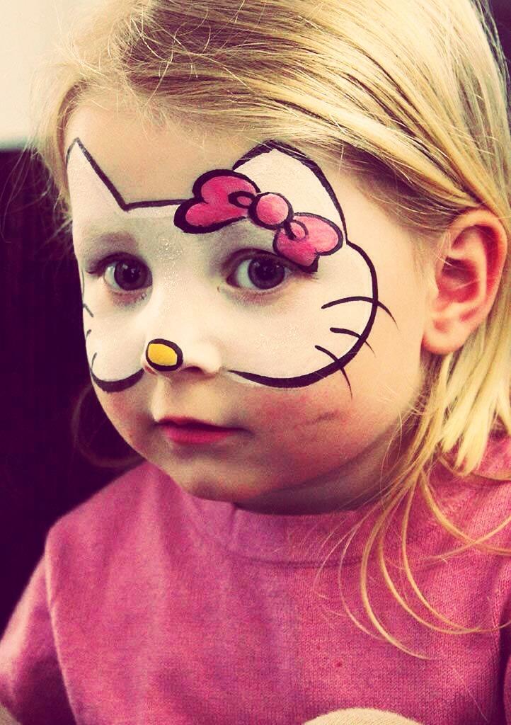 Фото как сделать макияж ребенку