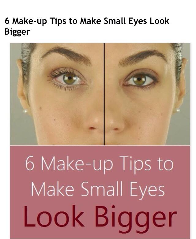 Quot 6 Makeup Tricks That Make Ur Eyes Look Bigger Quot 👌 Musely