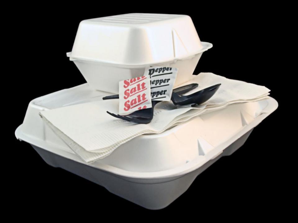 Can U Microwave Food In Styrofoam