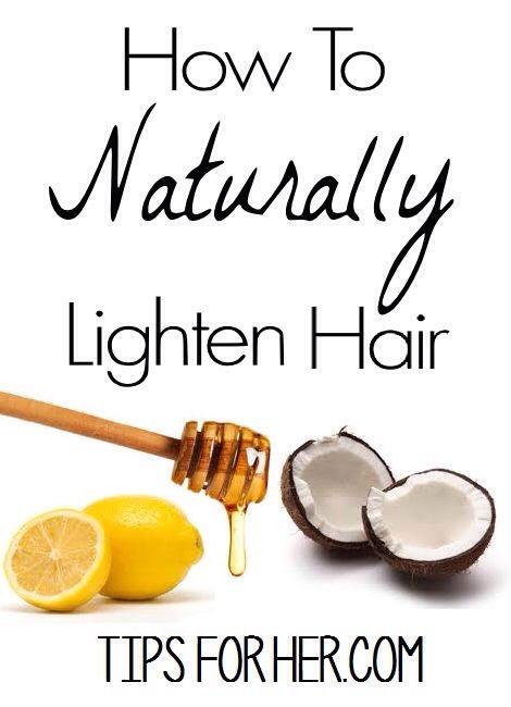 Naturally Lighten Hair With Lemon