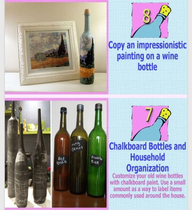12 ways to recycle wine bottles very creative musely for Recycling wine bottles creatively