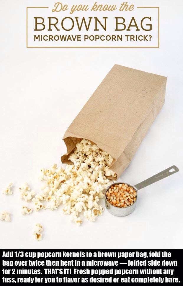 Brown Paper Bag Popcorn Recipe Tipbusters   Ahoy Comics