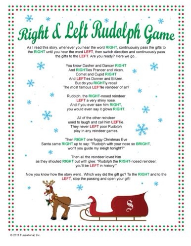 Cute Holiday Christmas game For Passing Out Gifts ! - Musely