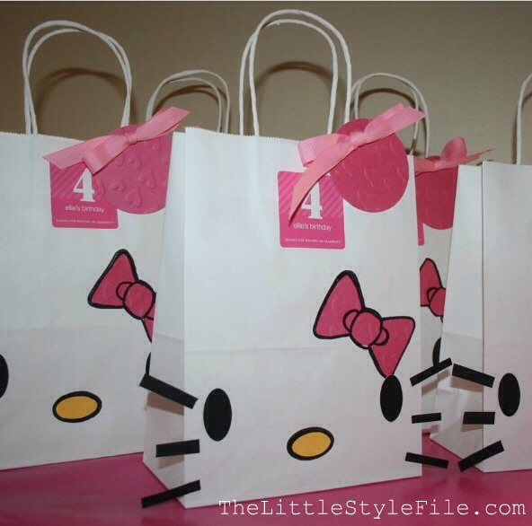 Diy hello kitty gift bags and cards🎉🐱 musely