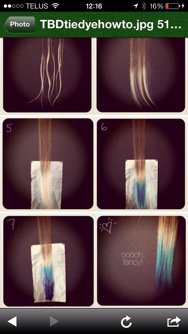 Правильно красим волосы в домашних условиях