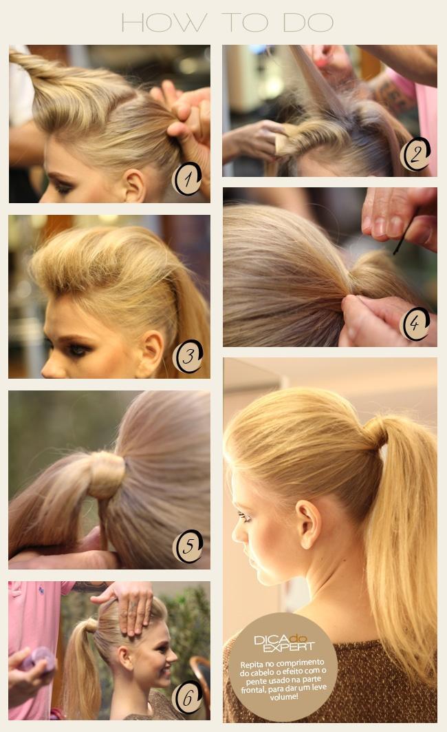 Как сделать красивый хвост из длинного волоса