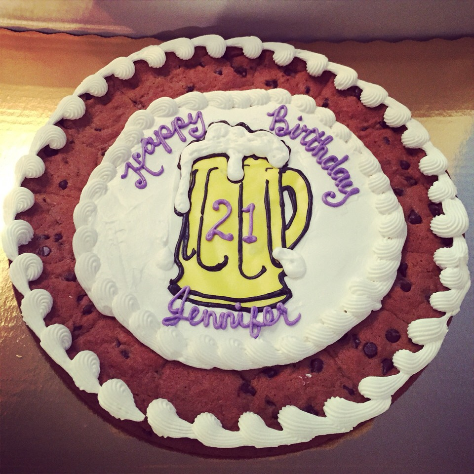 Cookie Cake Designs For 21st Birthday : 17 Things To Do For Your 21st Birthday ?? - Musely