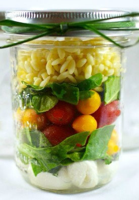 Salad In A Jar Recipes Great Way To Bring A Salad To Work