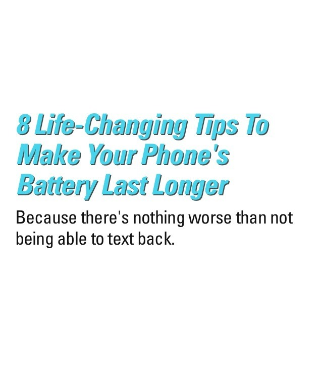Tips To Keep Your Phone Battery Last Longer ???