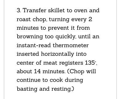 Pan Roasted Brine Pork Chops💕 - Musely