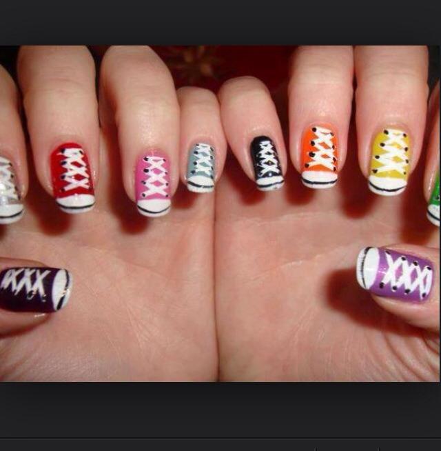 Фотки ногтей накрашенных