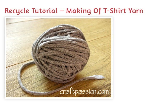 """Recycle Tutorial- """" Making Of T-shirt Yarn"""" - Musely"""