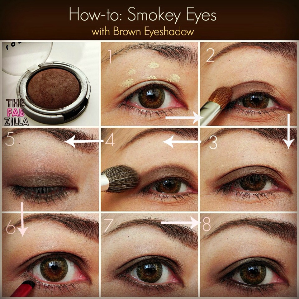 How To Apply Eyeshadow Brown Eyes Solution For Dummies