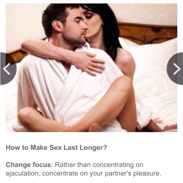 Have Long lasting sex techniques opinion