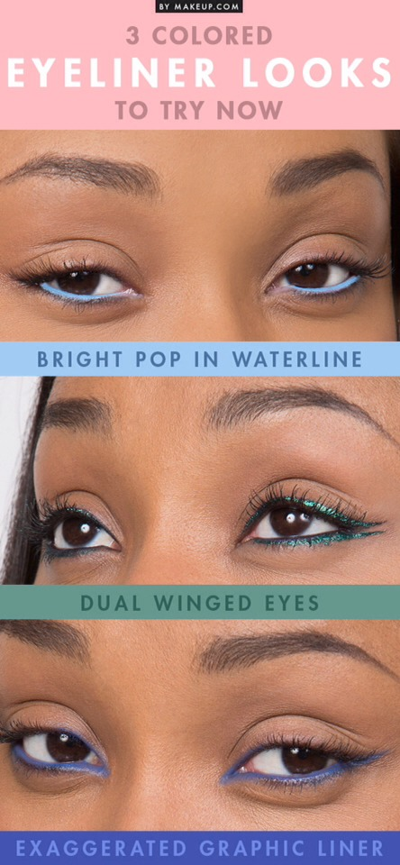 3⃣ Ways To Start Wearing Colored Eyeliner Now!