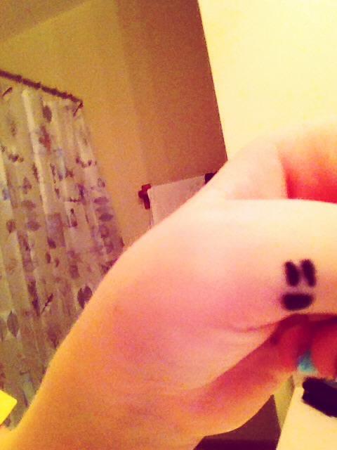 how to make sharpie tattoos last