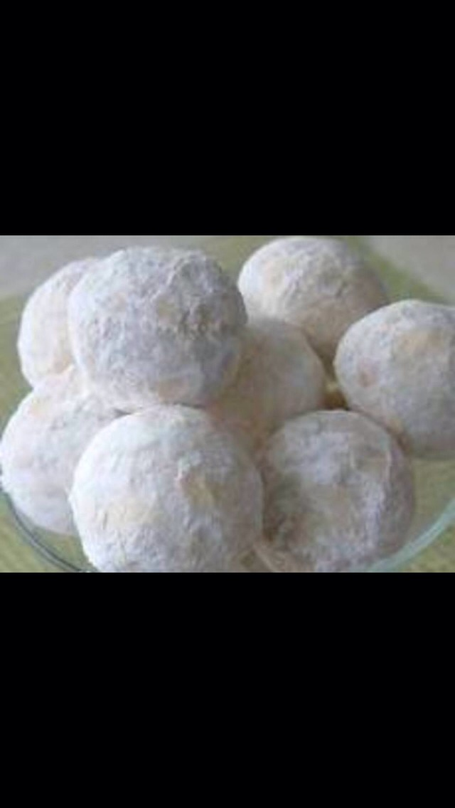 tips on preparing the snowball cookies Thsgardenwebcom.