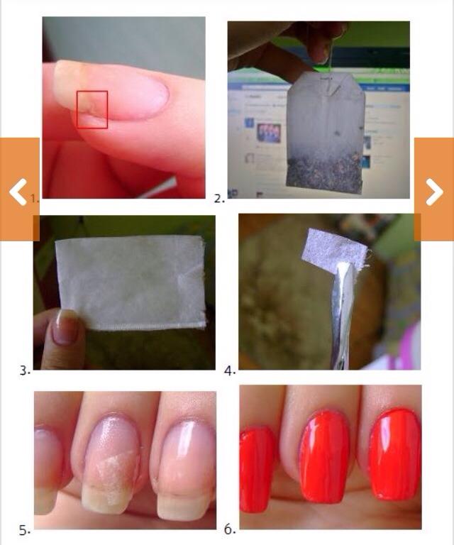 Как накрасить ногти если они сломаны