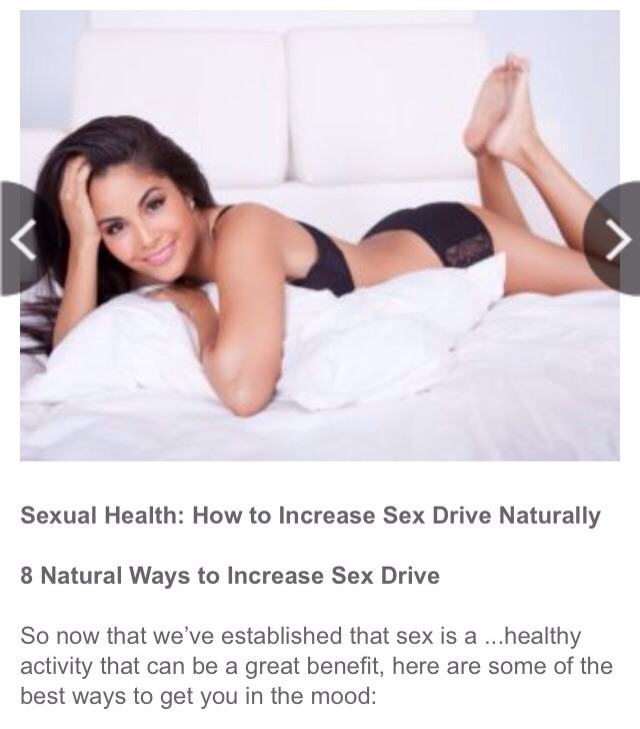 tips to improve your sex drive