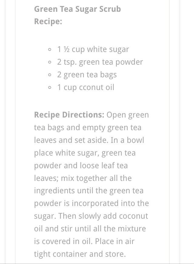 how to make green tea with sugar
