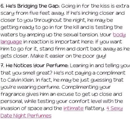 Dating guru read his signals