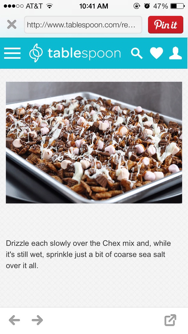 Better Than Sex Chex Mix😋 - Musely