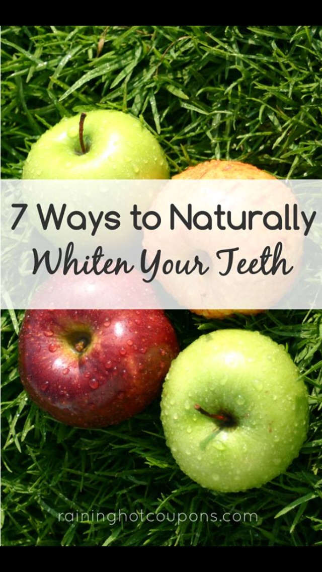 7 Ways To Naturally Whiten Your Teeth - Musely