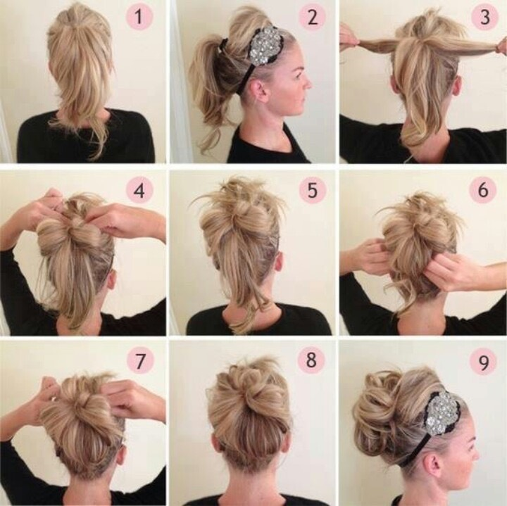 Вечерние прически на средние волосы своими руками в домашних